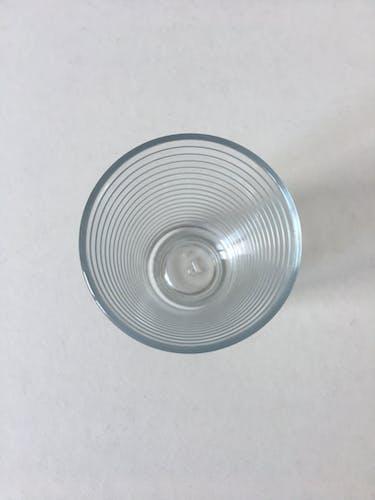 Set de 6 verres à eau style cantine