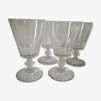 Set de 4 verres bistrot