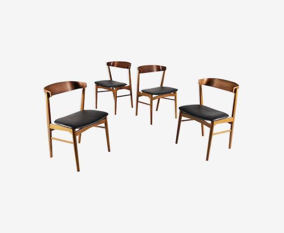 Suite de 4 chaises modèle 206 par Farstrup, Danemark 1960