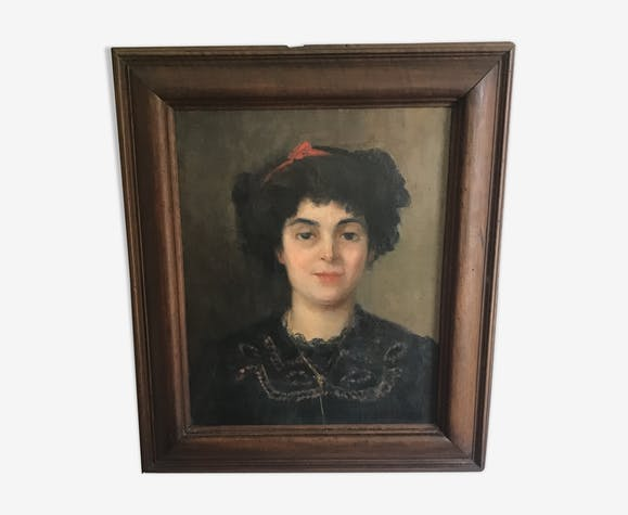 Portrait of woman late 19th