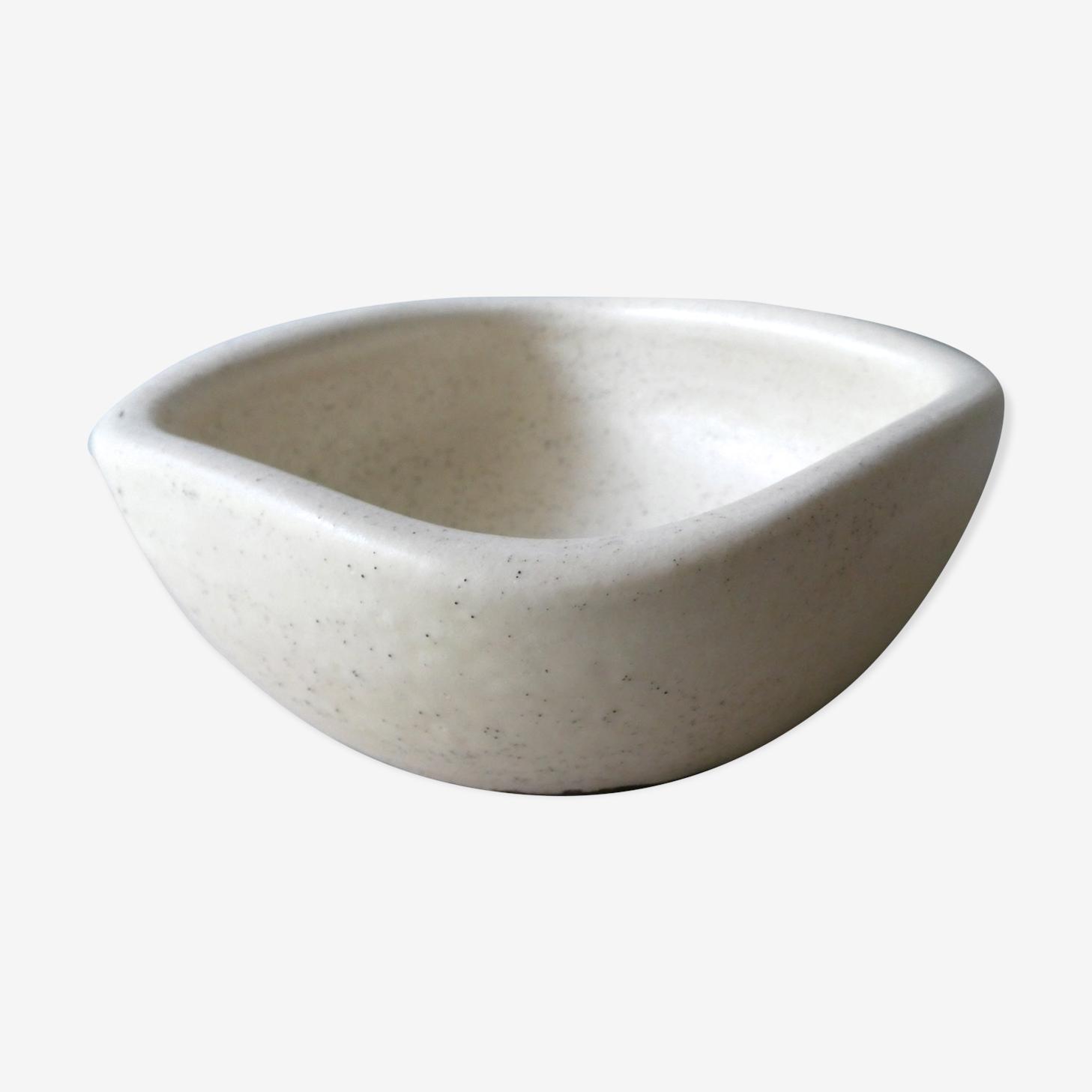 Vide poche en céramique forme libre signée Keramos années 50