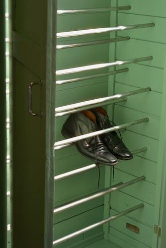 Vintage Parisian shoe cabinet