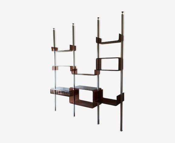 Shelf System Roche Bobois Metal Transparent Design