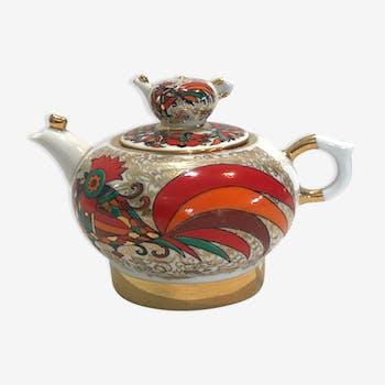 """Théière """"Coq"""" en porcelaine"""