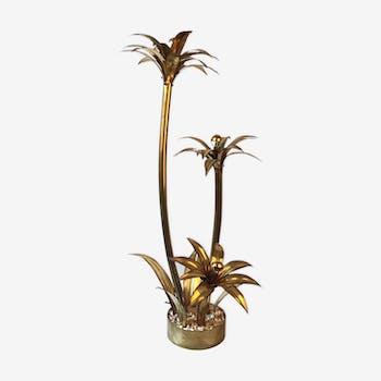 Lampadaire palmier 1970