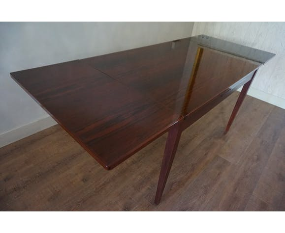 Table à manger extensible en bois de rose