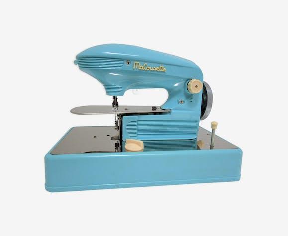 Machine à coudre Ma cousette bleue vintage
