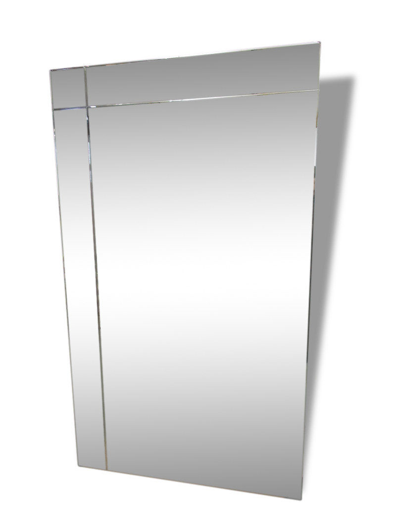 grand miroir pos au sol beautiful meuble miroir chambre. Black Bedroom Furniture Sets. Home Design Ideas