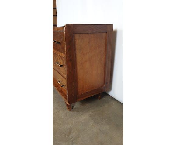 Commode 3 tiroirs années 60 art déco