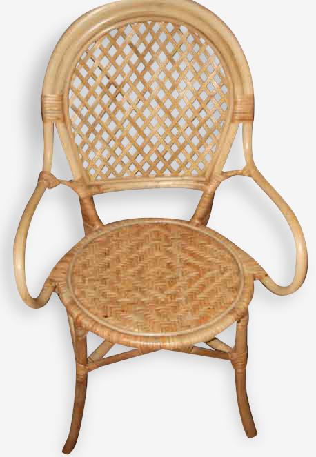 Deux fauteuils rotin, excellent état
