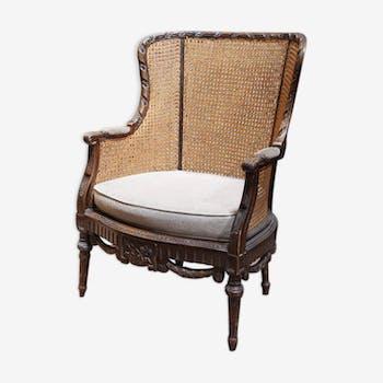 Louis XVI cane Bergere style