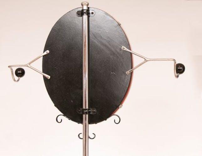 Bauhaus umbrella holder with mirror