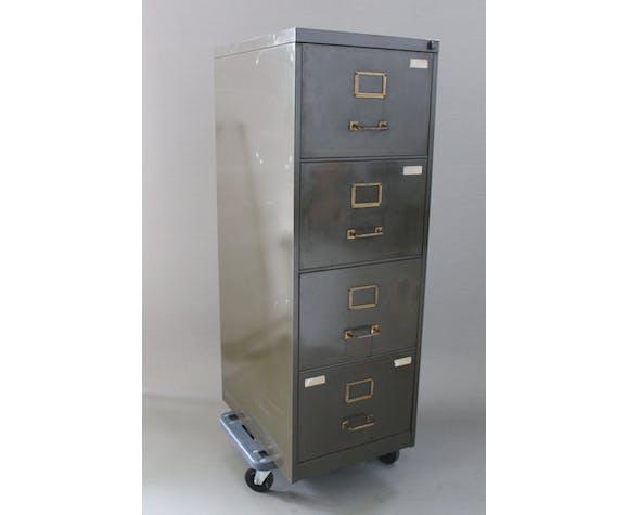 Industrial metal locker, circa 1950