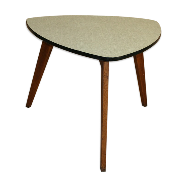 Table vintage triangulaire