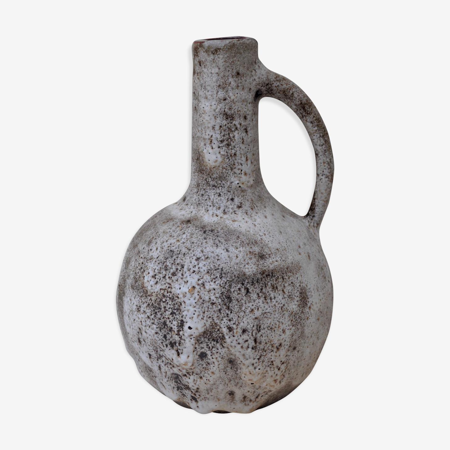 Vase au décor d'écume années 50