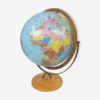 Globe lumineux Scan Globe Danemark 1976