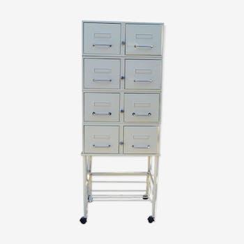 Meuble de m tier comptoir tabli vintage d 39 occasion for Meuble 8 casiers