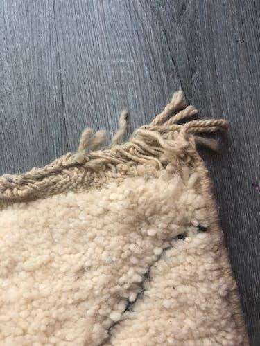 Tapis berbère beniouarain en laine 240x150