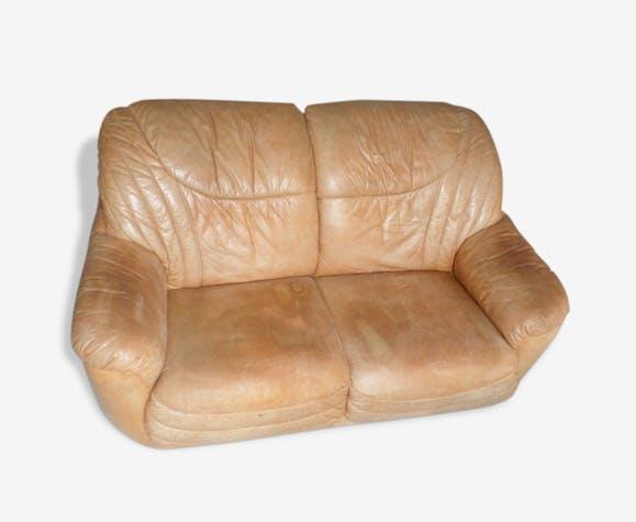 Canapé cuir sauvage