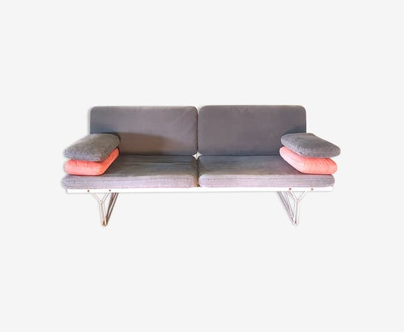 Moment Sofa By Niels Gammelgaard For Ikea 1980s Metal