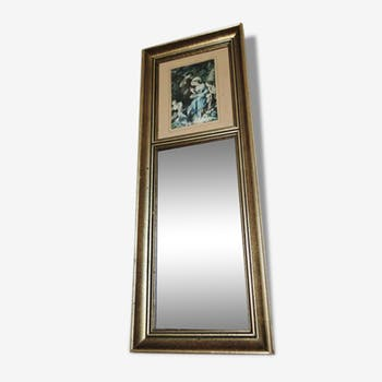 Former Trumeau mirror
