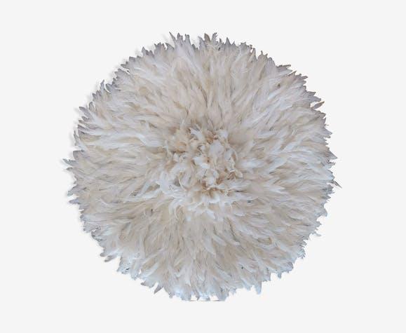 Juju hat en plumes fait main 60 cm