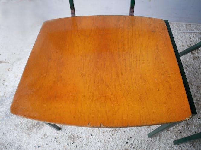Chaises empilable danoise des années 1970 par MH Stalmobler a/s