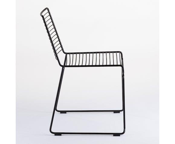 Chaise industrielle en acier