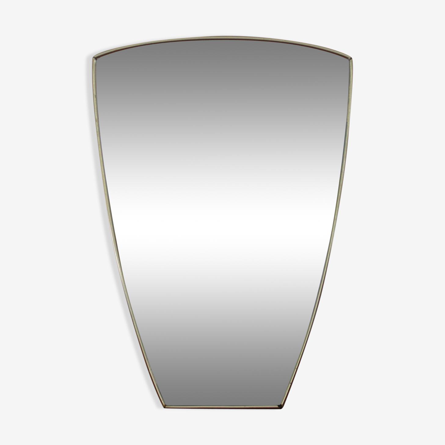 Miroir asymétrique en laiton