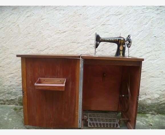 Ancienne Machine A Coudre Singer Dans Meuble Epoque Art Deco