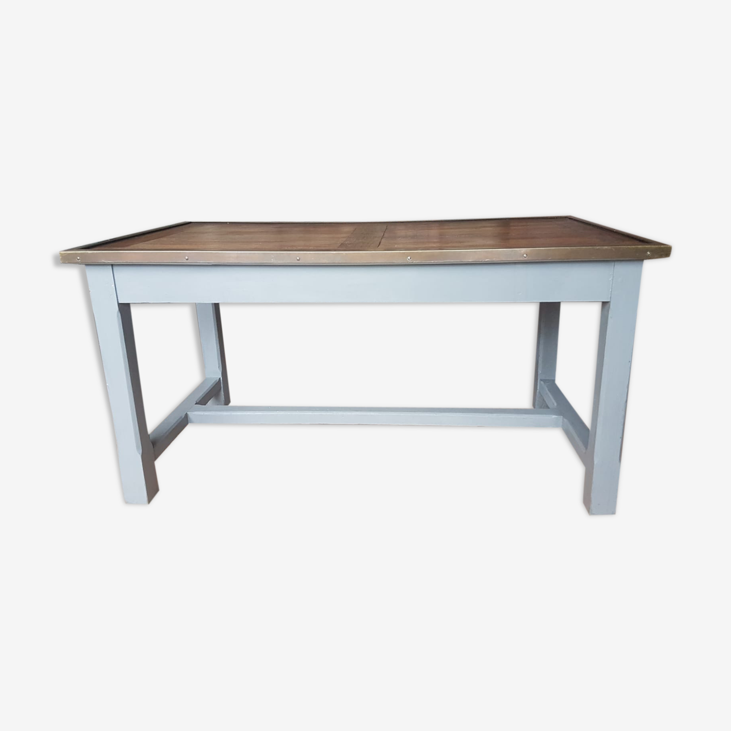 Bank wooden table