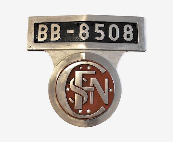 Sncf locomotive plate