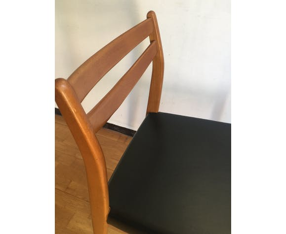 Lot de 6 chaises scandinaves