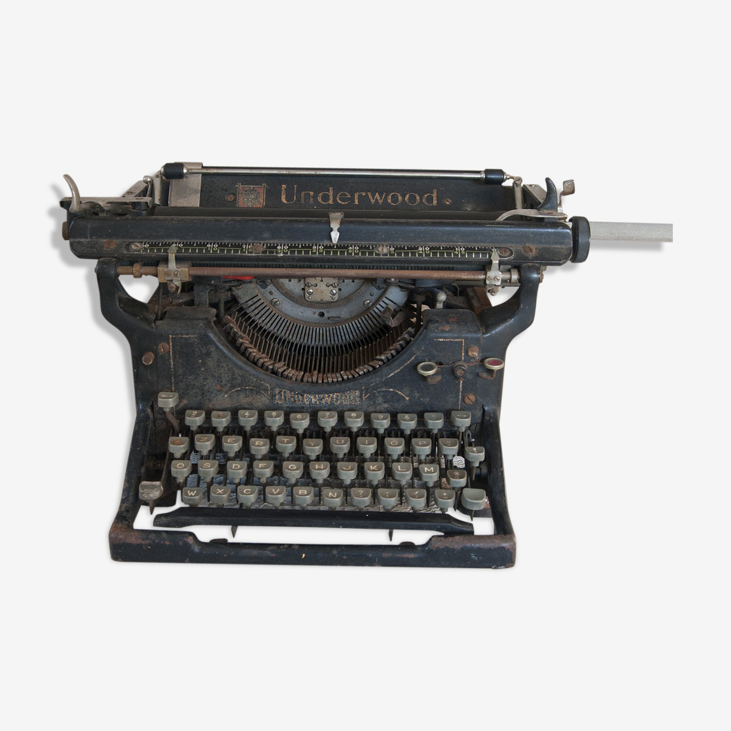 Vintage 1910 Underwood typewriter