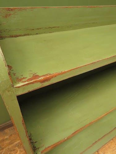 GREEN OAK SHELVES