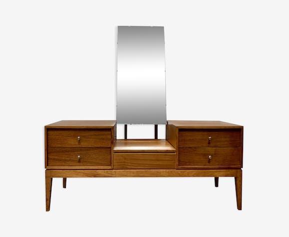 Coiffeuse avec miroir par Uniflex vintage