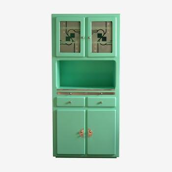 Buffet de couleur verte vintage d\'occasion
