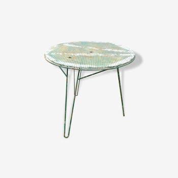 Table de jardin vers 1955 Mathieu Mategot