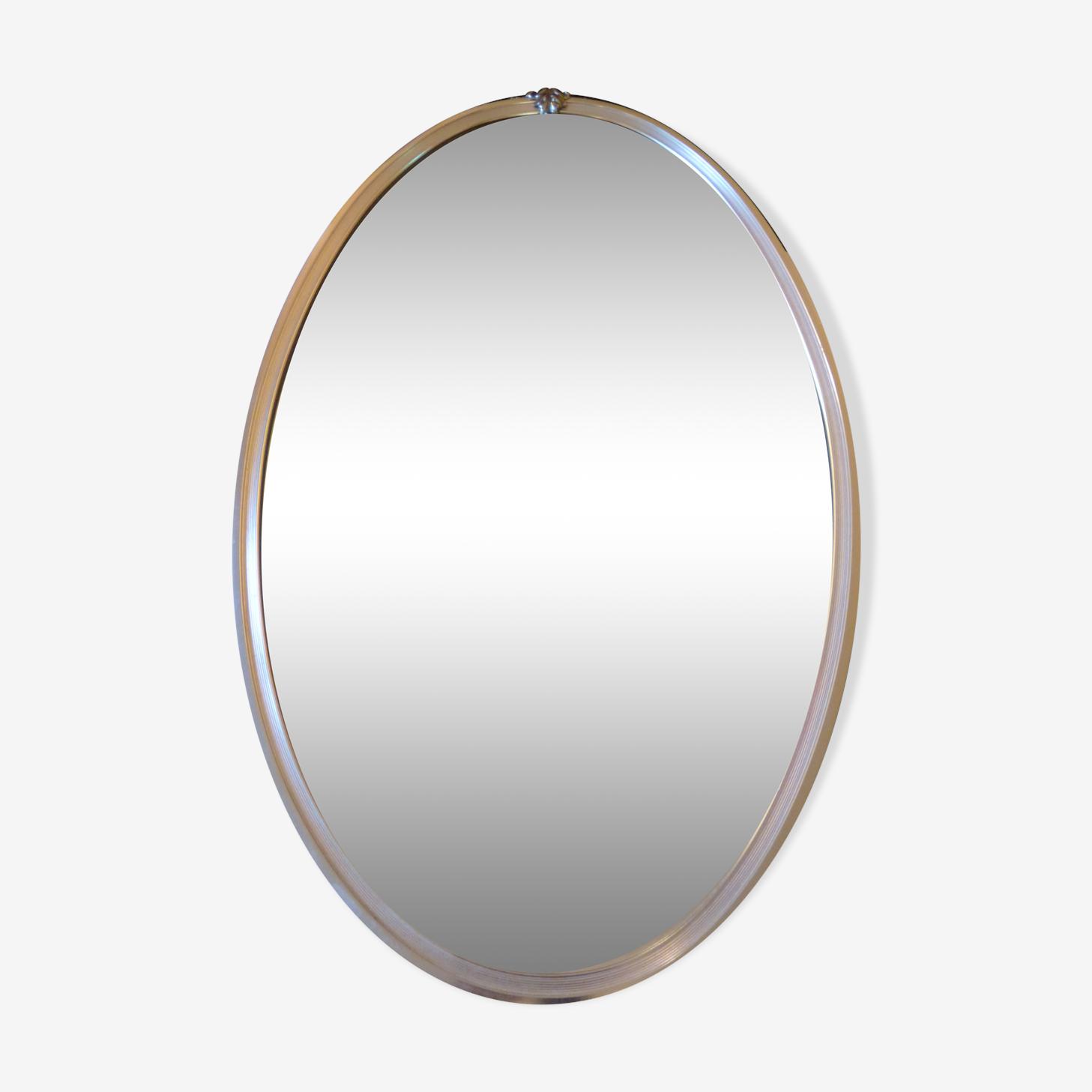 Oval mirror 37x63cm