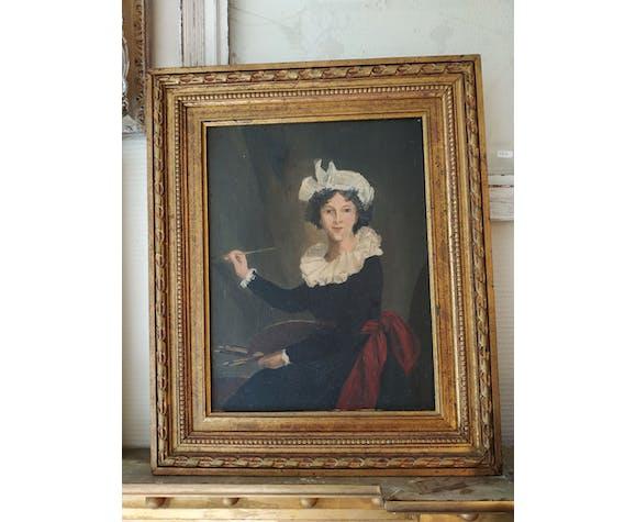 Portrait of Ms. Vigier Lebrun