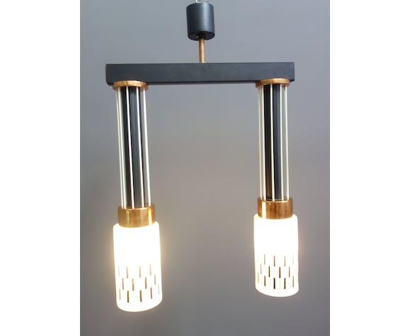 Pendant lamp 1960s by Drukov model 2572
