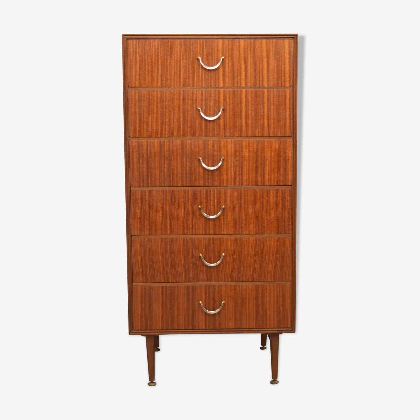 Mid century teak chest of drawers by Meredew