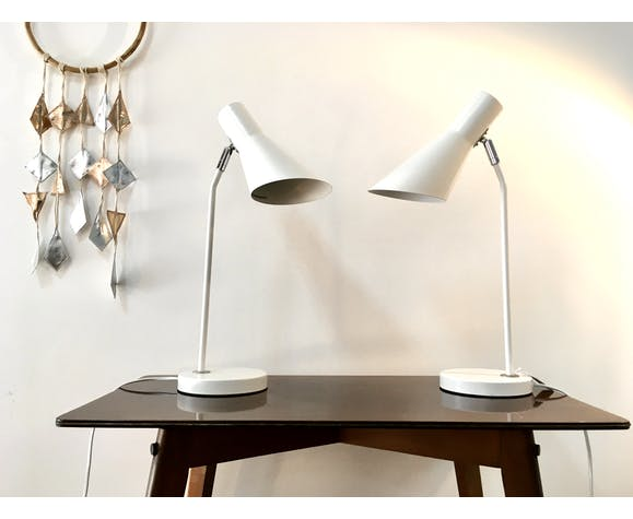 Lot de 2 lampes de bureau