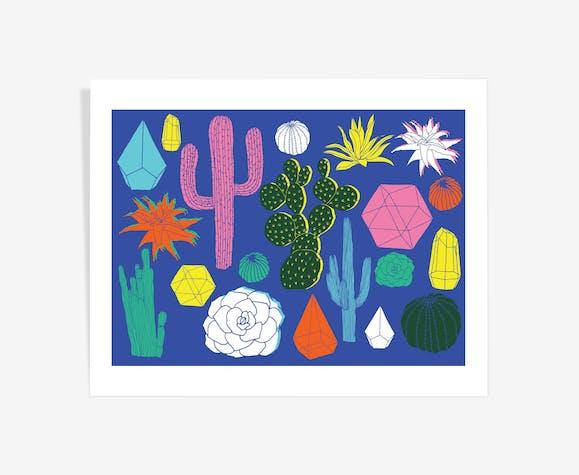 Cactus - art à tirage limité