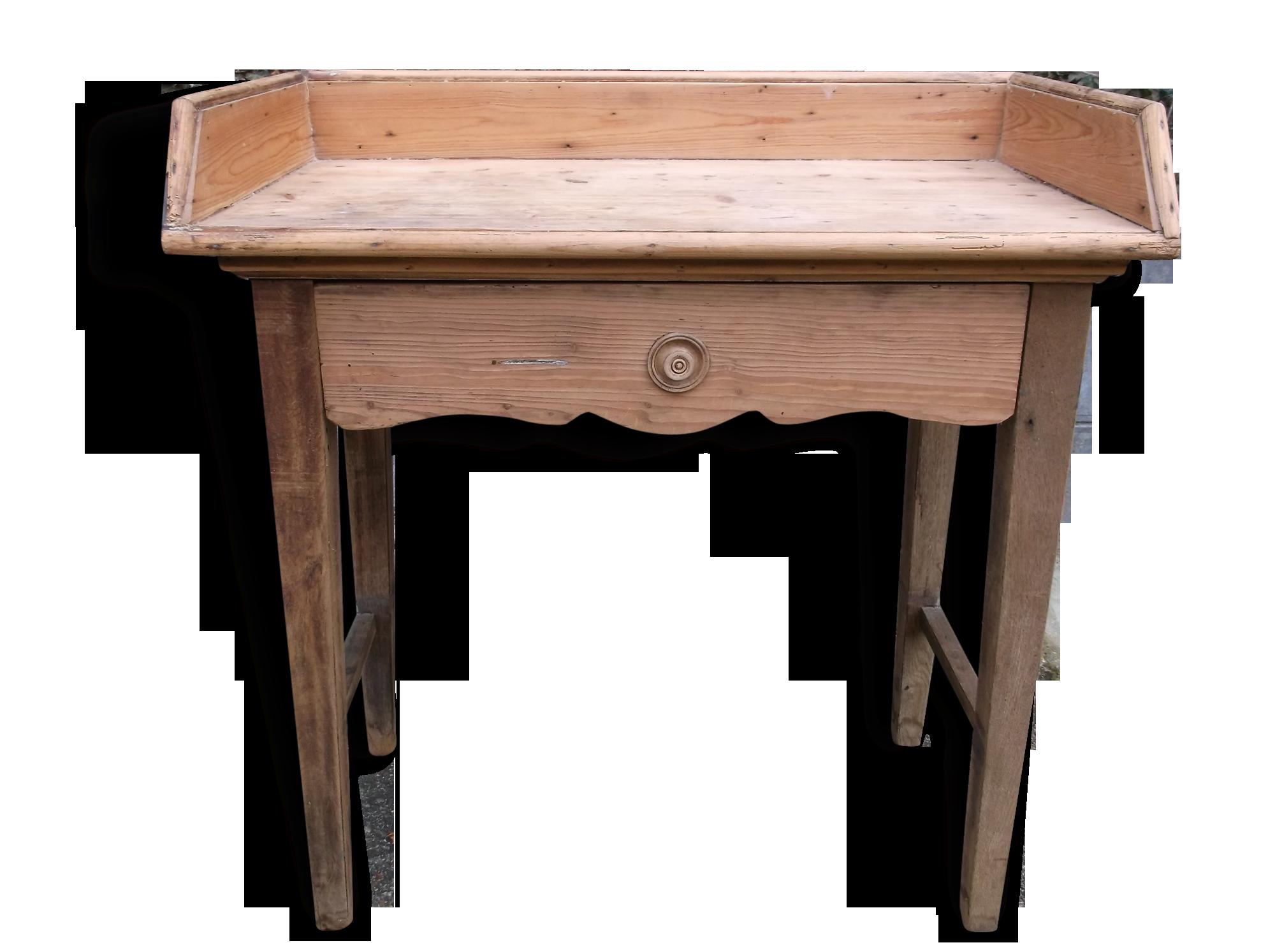 Bureau bois massif ancien table chene massif rustique beautiful