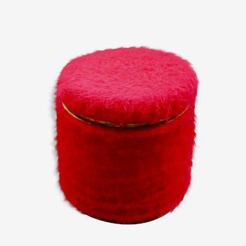 Ottoman chest red rug Pelfran