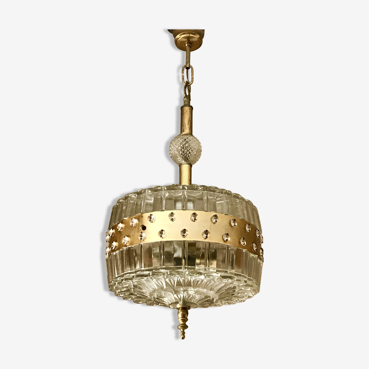 Hanging lamp by Carl Fagerlund 1960