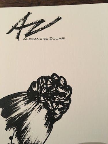 Illustration de mode de presse Alexandre de Paris
