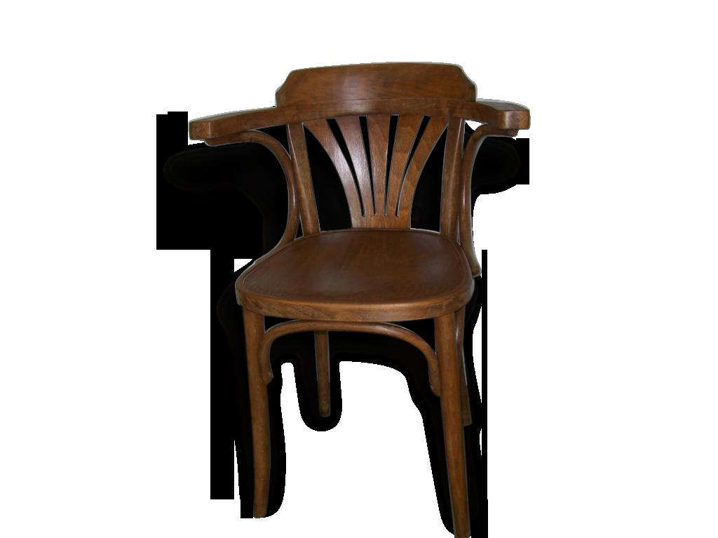 Chaise de bureau ancienne en bois bois Matriau classique