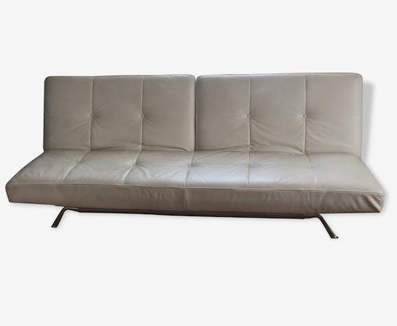 canap blanc cinna cuir blanc design 67856. Black Bedroom Furniture Sets. Home Design Ideas